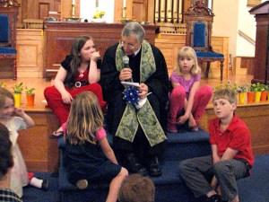 Children's Time with Rev. Tom Kinder