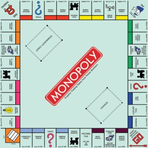 Monopoly Template for Photoshop
