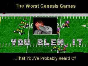The 10 Worst Genesis Games That You've Probably Heard Of