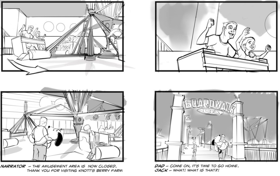 Voyage to the Iron Reef Storyboard 2