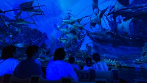Shanghai Disneyland Pirates of the Caribbean Boat