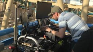HangTime Camera Mount 3 Live Stream Roller Coaster