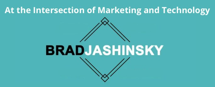 Brad Jashinsky Website Header - At the Intersection of Marketing and Technology