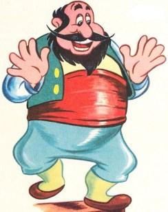 Stromboli from Disney's Pinocchio