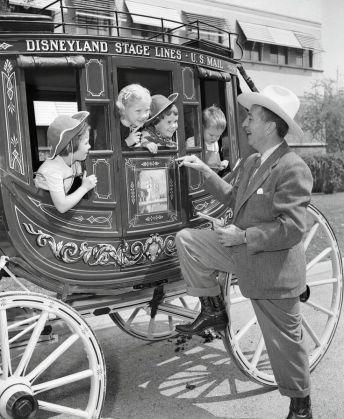 Disneyland stagecoat