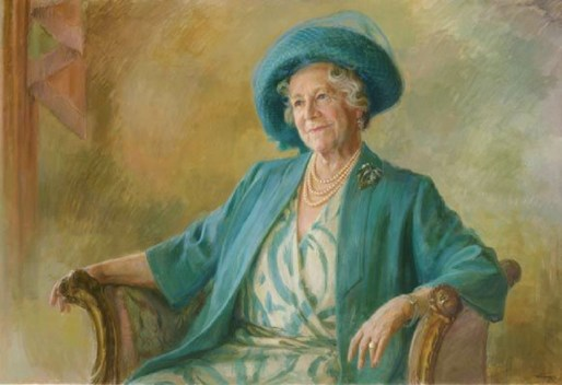 """The Queen Mum served as an icon of morale and fortitude during the War years as well as a monarch of great constitutional drive given she lived to the ripe old age of 101. Pictured above is the Queen Mum's official """"centenarian"""" portrait commemorating her 100th birthday in 2000."""