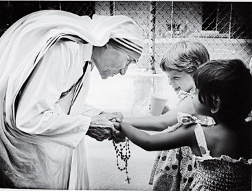 A fact not realized by many - Mother Teresa adored children.