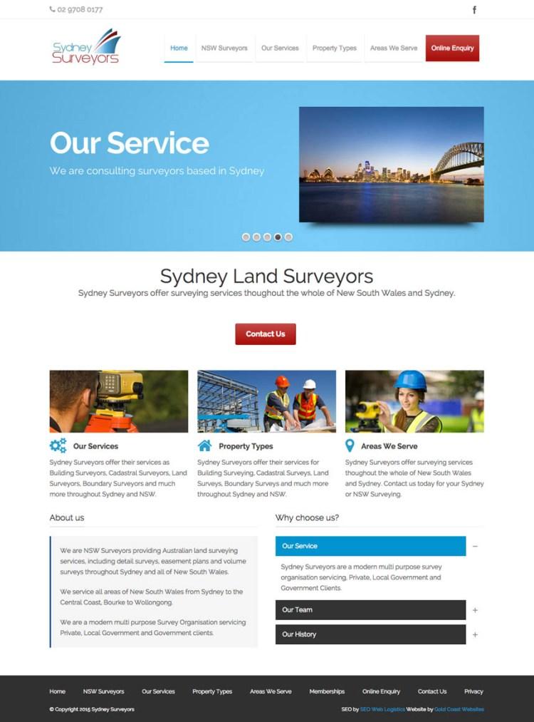 sydeny-surveyors-wordpress-developer
