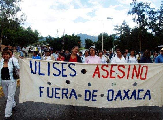 Ulises Asesino Fuera de Oaxaca