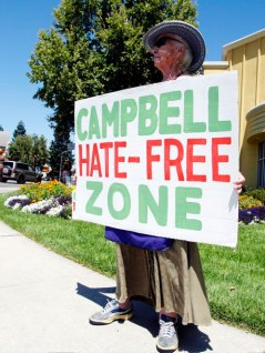 Campbell Hate-Free Zone