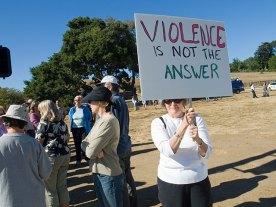 violence-not-answer_8-4-08