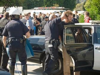 Two Arrested Near Farmer's Market