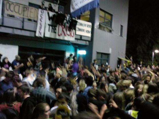 UCSC Occupation Dance Party