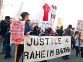 Twenty-year-old Raheim Brown was killed by Oakland Unified School District Police at Skyline High School on January 22nd, 2011.