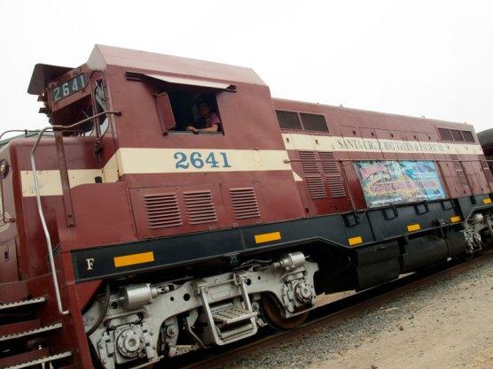 Santa Cruz, Big Trees and Pacific Railway