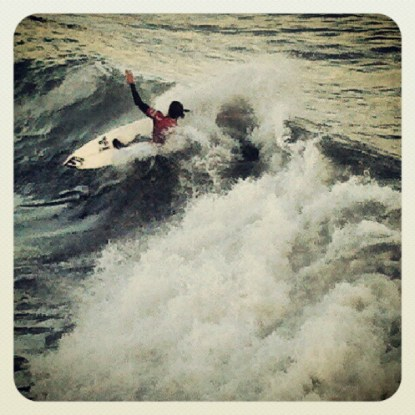 Jordy Smith from Durban, South Africa Wins Heat 12 Round 1
