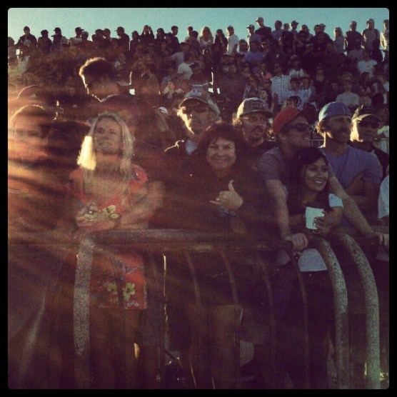 Thousands watch Kelly Slater & Dusty Payne