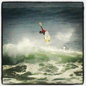 Gabriel Medina's incredible frontside air in Heat 8 Round 1