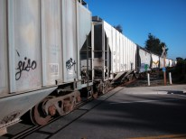 the Union Pacific cuts through California