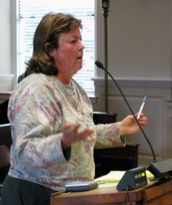 Catherine Gunderson Speaks Out Against SCPD Spying