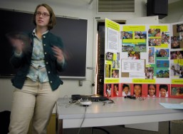 A student of Tony discussed her experience with children in Costa Rica.