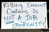 Killing Innocent Civilians is Not a Job Opportunity