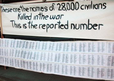 names of 28,000 Iraqi civilians killed in the war