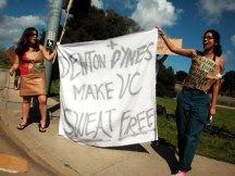 Denton + Dynes Make UC Sweat Free