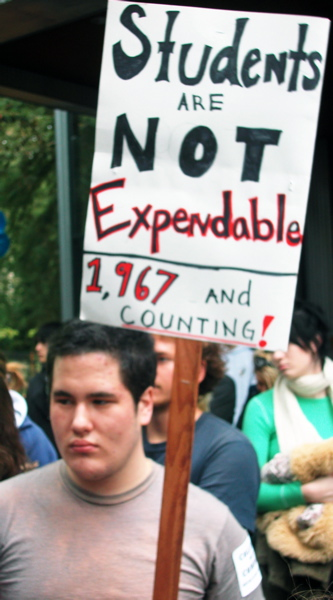Students Are Not Expendable. 1,967 And Counting!