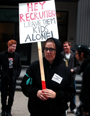 Hey, Recruiters, Leave Them Kids Alone