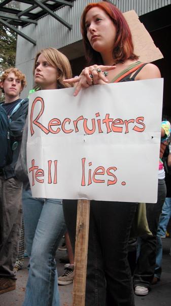 Recruiters Tell Lies