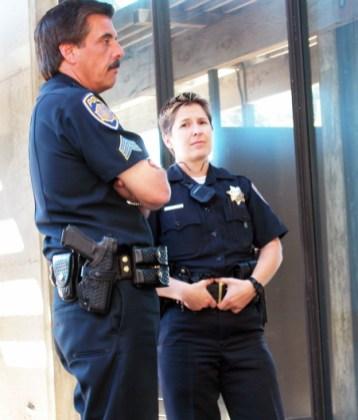 more cops... just standing around