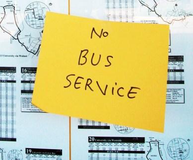 No Bus Service