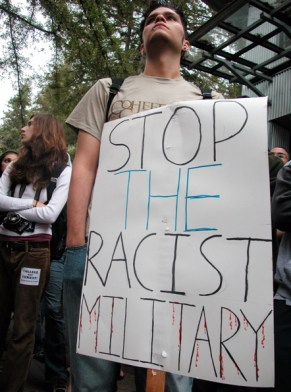 Stop The Racist Military