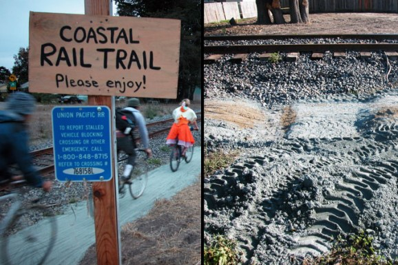 Coastal Rail Trail October 28 and November 11, 2005