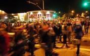 Last Night Santa Cruz Passes the Saturn Cafe