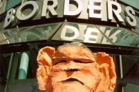 Bush at Borders