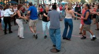 Salsa in the Streets. August 12, 2003.