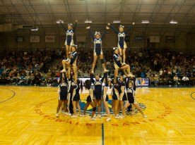UCSC Cheer at Halftime