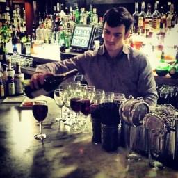 Ilya Romanov, bartender at Motiv