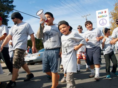 Youth Spirit Carries the March