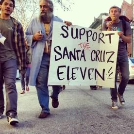 Support the Santa Cruz Eleven