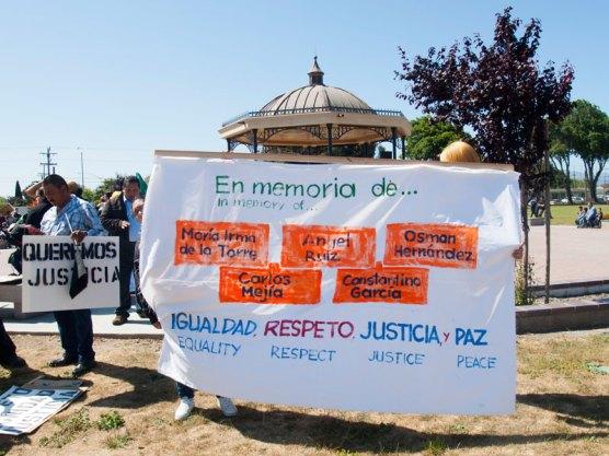 In Memory Of … María Irma de la Torre, Angel Ruiz, Osman Hernandez, Carlos Mejia, and Constantino Garcia.