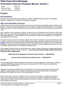 Wells Fargo's manual for fabricating foreclosure papers
