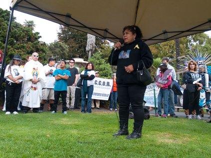 Margarita Lopez, mother of Jesse Lopez (1/25/97 - 12/10/11)