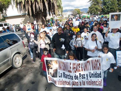 Watsonville Peace and Unity March 2014