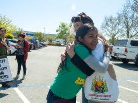 Maestra Gloria Gracida Hugs Dr. Ann López