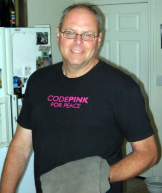 Louie LaFortune, Code Pink for Peace