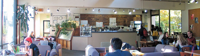 Stevenson Coffee House. Photo courtesy UCSC.