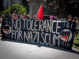 No Tolerance For Nazi Scum